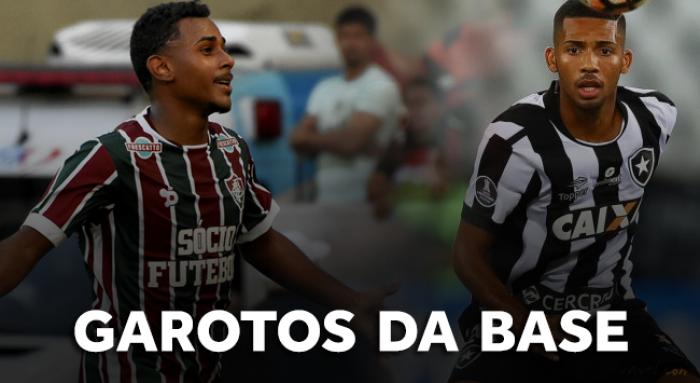 Clássico Vovô? Revelações são destaques e ditam ritmo de Fluminense e Botafogo