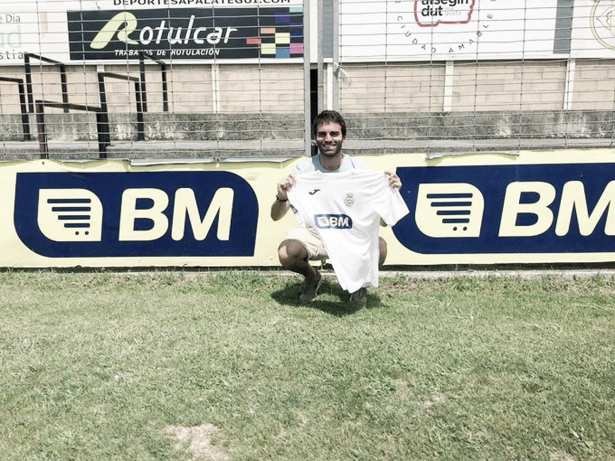 Javier Garrido llega al Real Unión