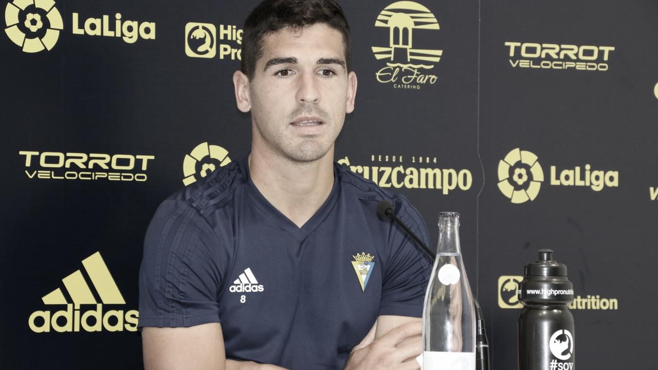 """Garrido: """"Estoy preparado"""""""