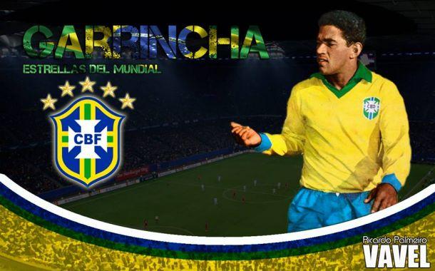 Estrellas de los Mundiales: Mané Garrincha