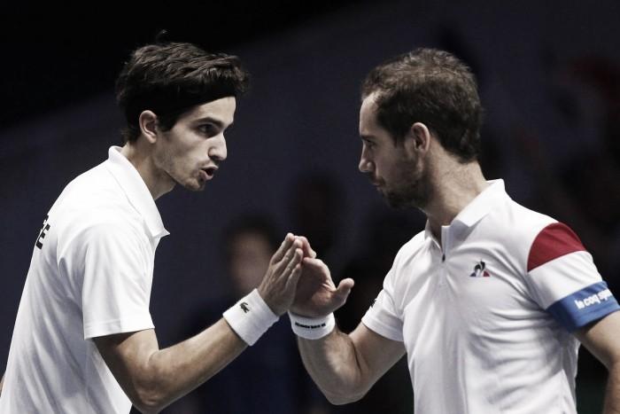 Gasquet e Herbert vencem e colocam França na liderança na final da Copa Davis