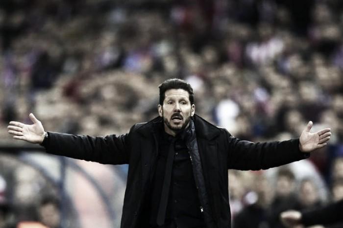 "Simeone analisa empate contra Barcelona e afirma: ""Resultado foi justo"""