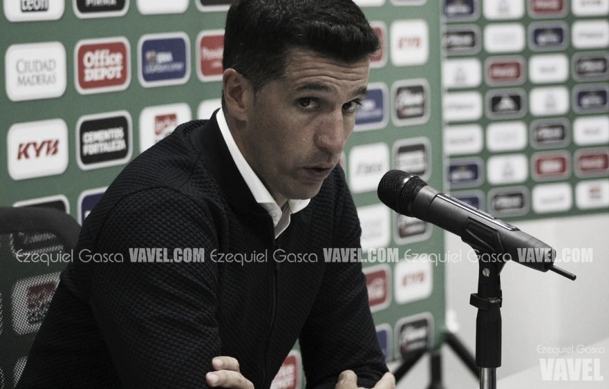Gustavo Díaz reconoció el desgaste de sus jugadores