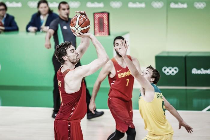 Espanha conquista bronze no basquete masculino vencendo Austrália nos segundos finais