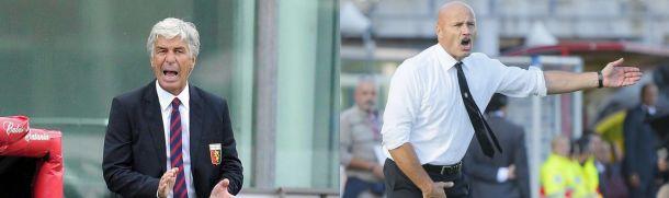 """Genoa - Atalanta, Colantuono: """"Risultato esatto"""". Gasp: """"Meritavamo la vittoria"""""""