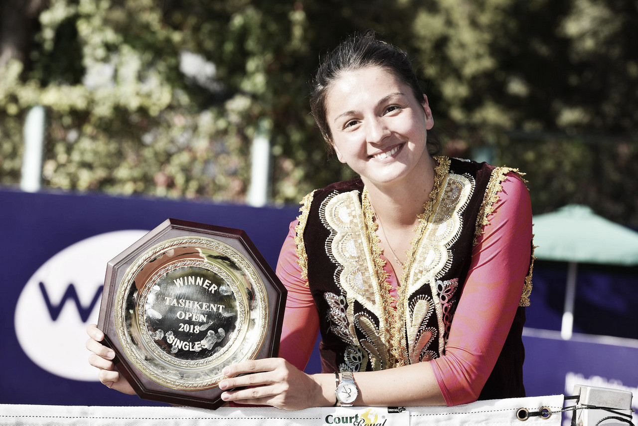WTA Tashkent: Margarita Gasparyan stuns Anastasia Potapova for the title