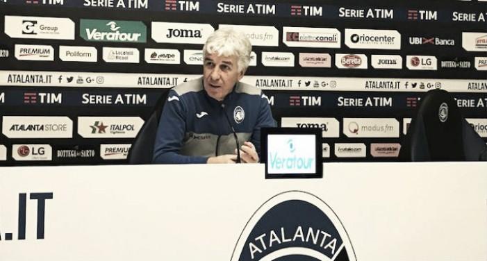 Atalanta, la conferenza stampa di Gian Piero Gasperini