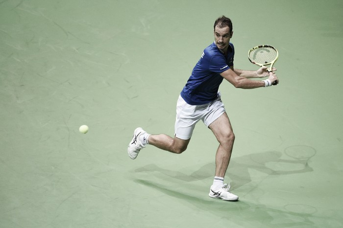 Davis Cup: Richard Gasquet routs Borna Coric to put France ahead