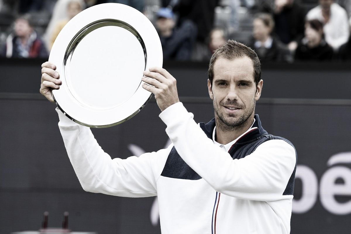 Após três anos sem títulos, Gasquet passa por Chardy e vence ATP 250 de Hertogenbosch