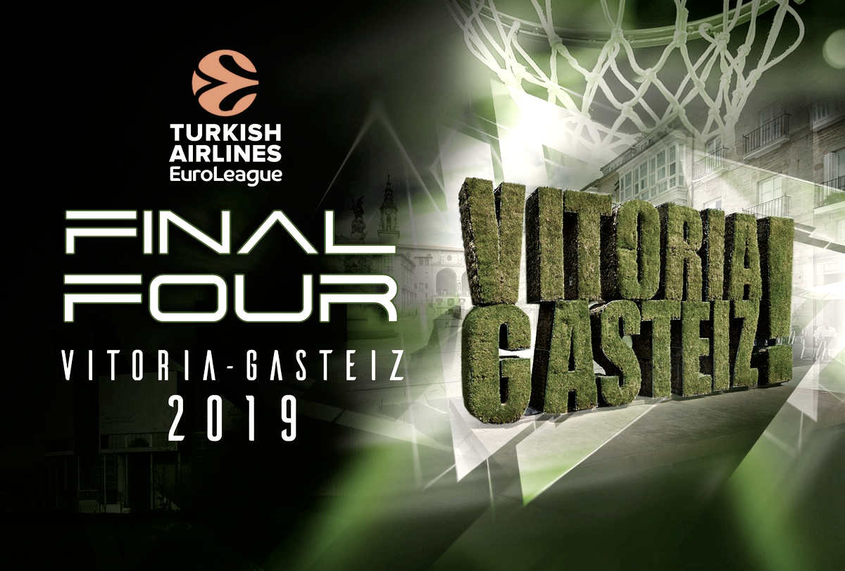 Vitoria-Gasteiz acogerá la Final Four EuroLeague 2019