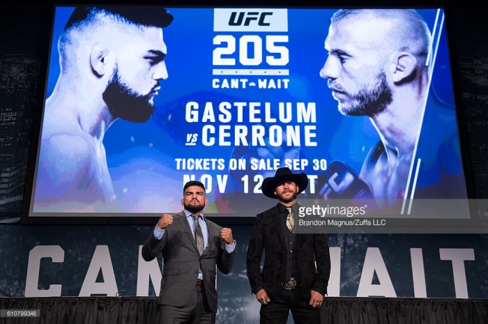 UFC 205: Kelvin Gastelum vs Donald Cerrone preview