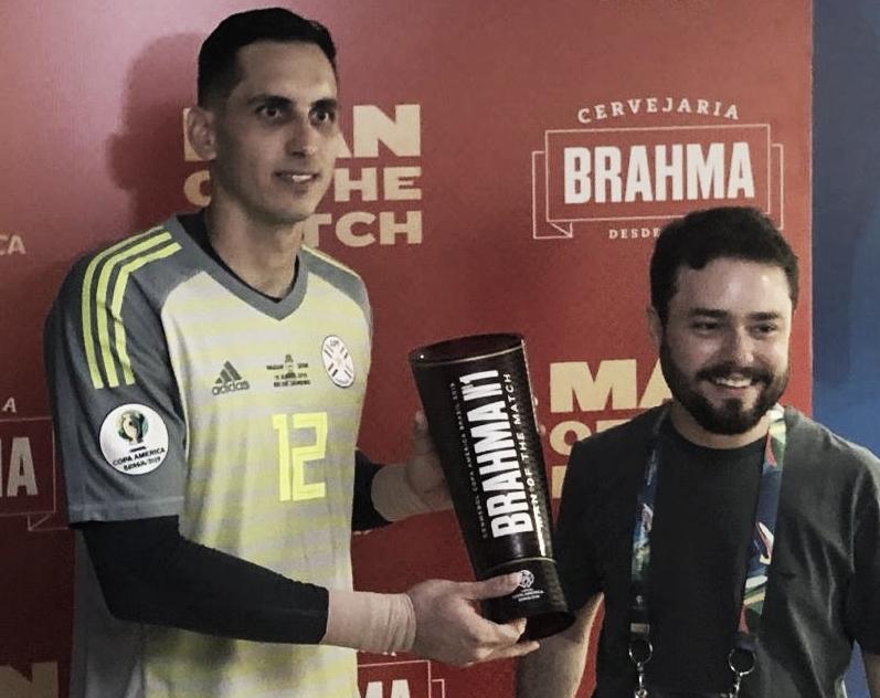Poderia ter sido pior: Gatito Fernández evita derrota do Paraguai no Maracanã