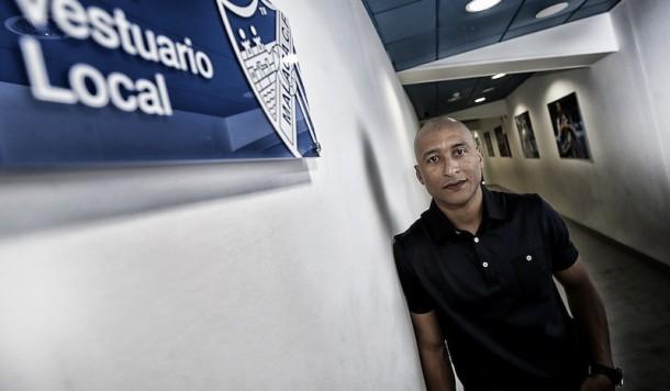 Clever Marcelo Romero Silva, el 'Gato' del Málaga CF