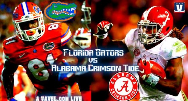 Florida Gators - Alabama Crimson Tide Score And Result Of 2015 SEC Championship (15-29)