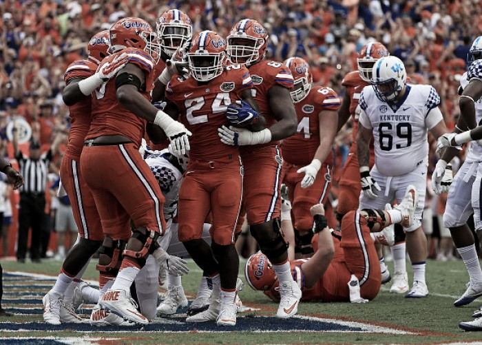 Kentucky Basketball What The Florida Win Means To The: Florida Destroy Kentucky 45-7 To Gain 30th Consecutive Win