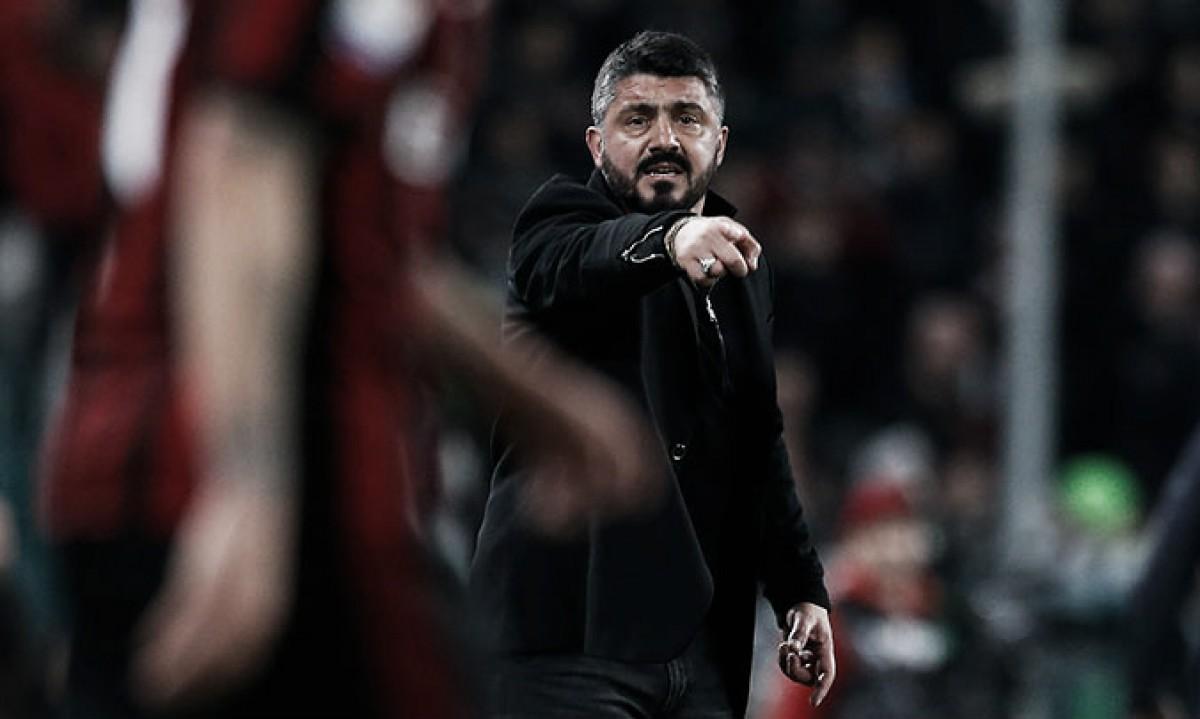 """Gattuso ataca Çalhanoglu após derrota: """"Se levantasse o traseiro, não tomaríamos o outro gol"""""""