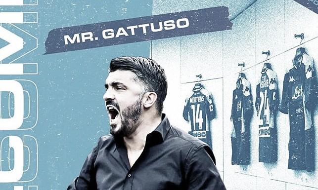 """Gattuso chega ao Napoli e exalta Ancelotti: """"Ganhou tudo"""""""