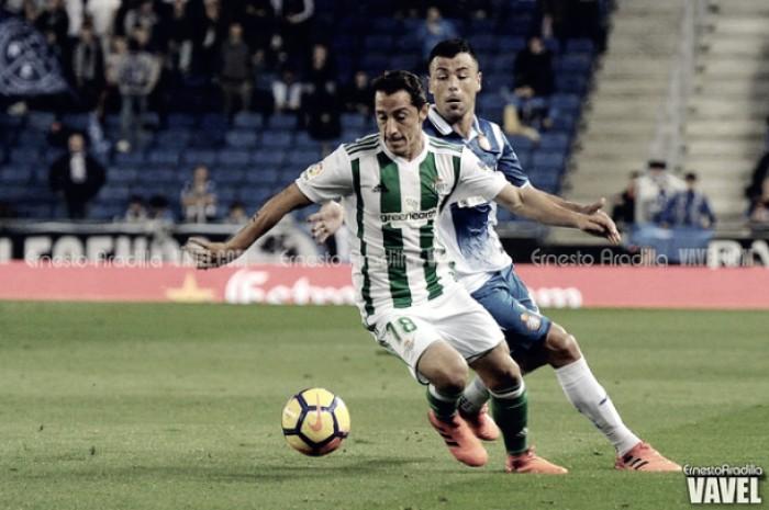 """Guardado: """"Me gustaría regresar con el Betis a competiciones europeas"""""""
