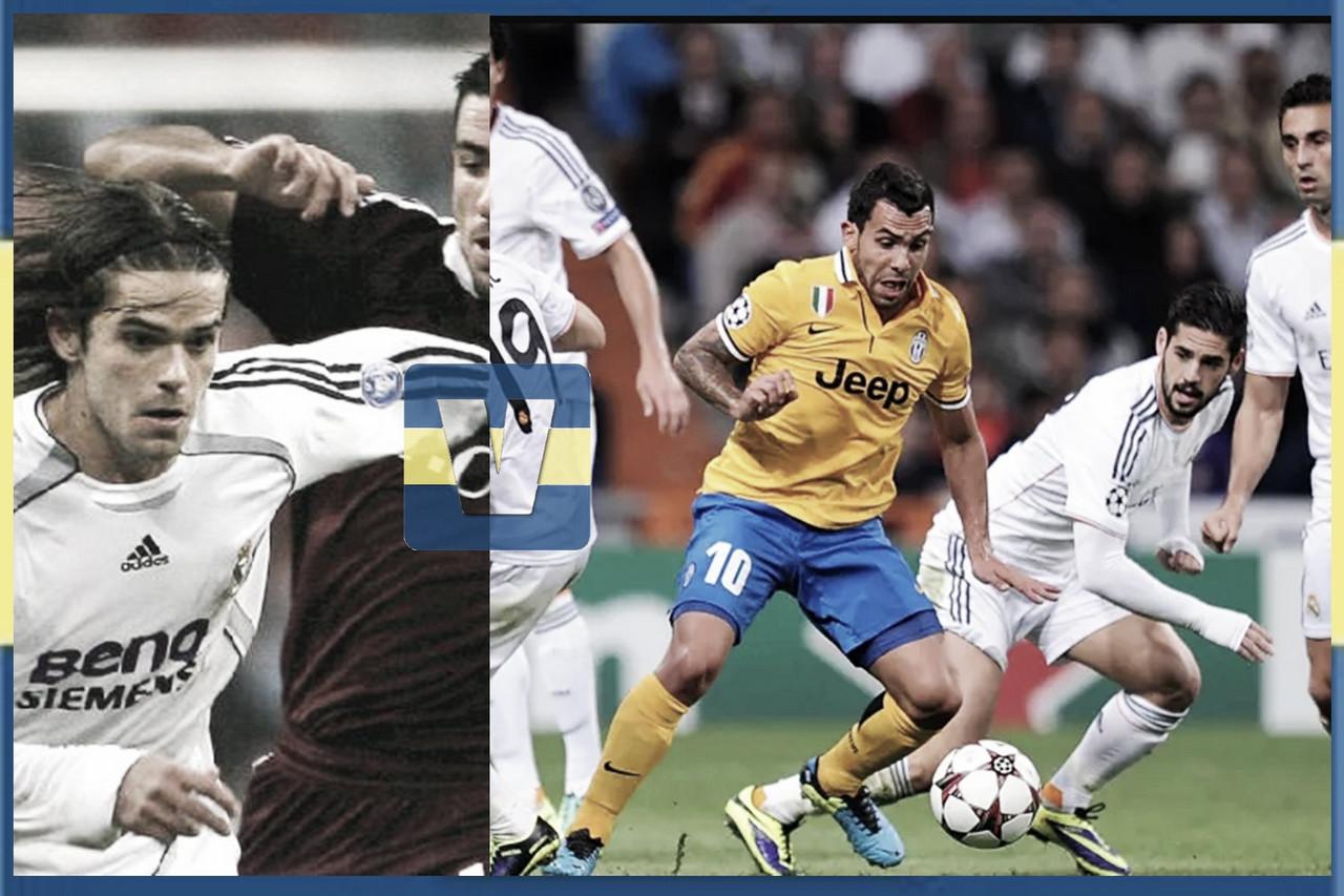 Jugadores de Boca que jugaron en el Bernabéu