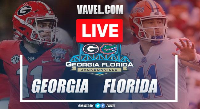 Georgia Bulldogs vs Florida Gators: LIVE Stream Online and Football Updates (24-17)