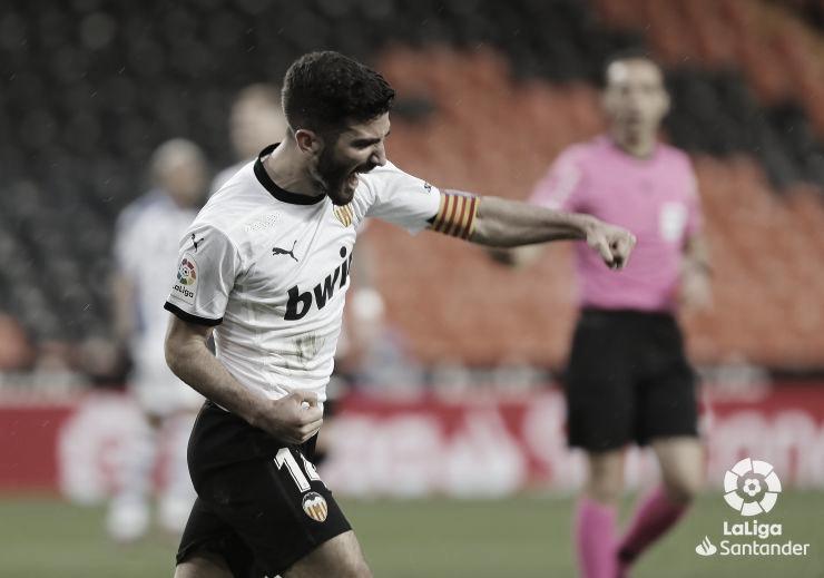 Gayà, la gran estrella del Valencia CF