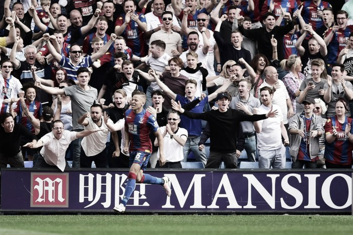 Crystal Palace 2-1 Stoke City: Eagles fight back to secure safety