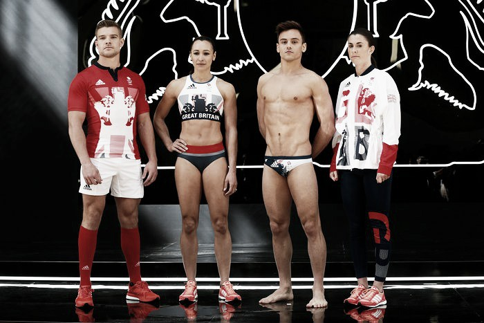 Team GB kit unveiled for Rio Olympics