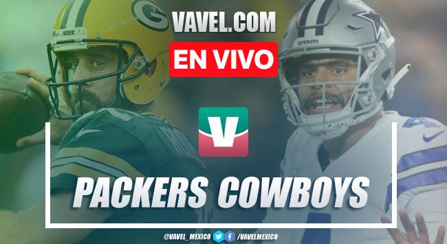 Cowboys 24-34 Packers EN VIVO online
