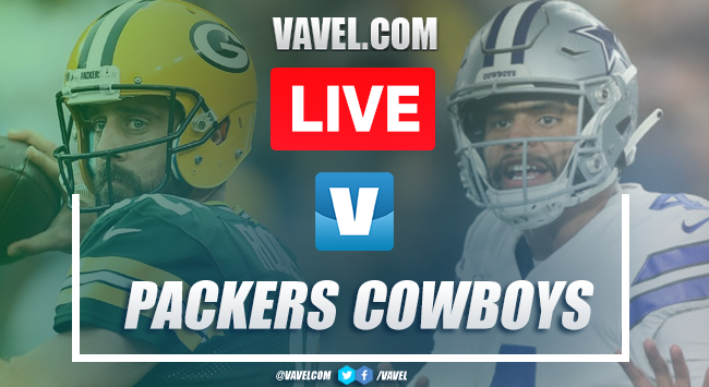 Packers vs Cowboys: LIVE Stream and NFL Updates (34-24)