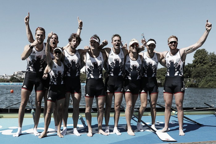 Rio 2016: GB's Men's Eight win gold and Women's take silver