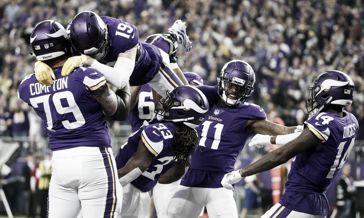 Los Vikingos navegan hacia la victoria — NFL