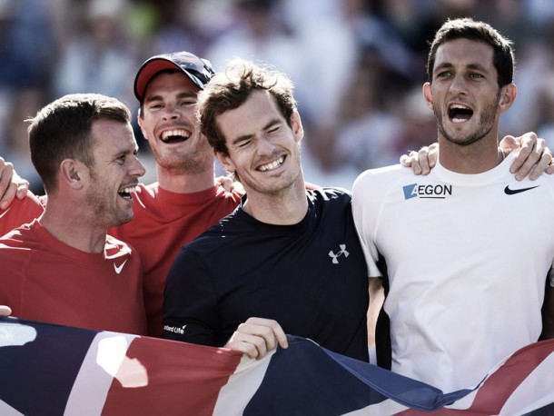 Davis Cup: Great Britain's top five matches of 2015