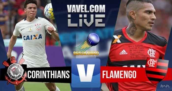 Resultado Corinthians x Flamengo no Campeonato Brasileiro 2016 (4-0)