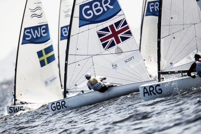 Rio 2016: Giles Scott seals gold and Nick Dempsey sails to silver in an incredible day of sailing