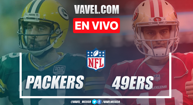 Resumen y anotaciones del Green Bay Packers 34-17 San Francisco 49ers en NFL 2020