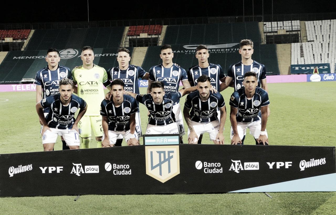 El pasado sábado, con River, el Expreso volvió a jugar en la provincia de Mendoza después de ocho meses. Foto: Prensa Godoy Cruz.
