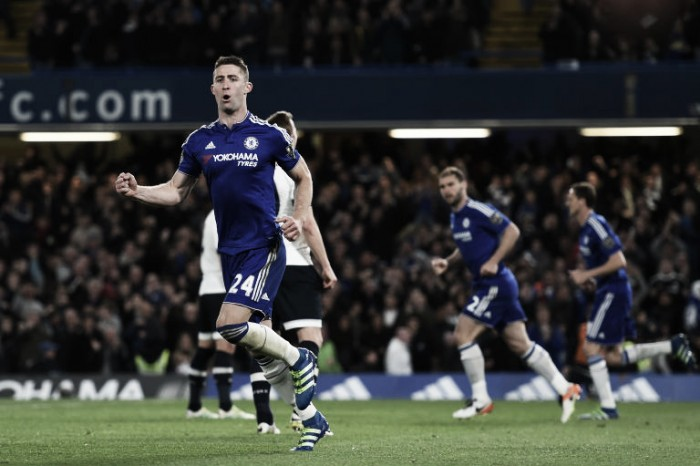Gary Cahill says the team enjoyed giving an entertaining game