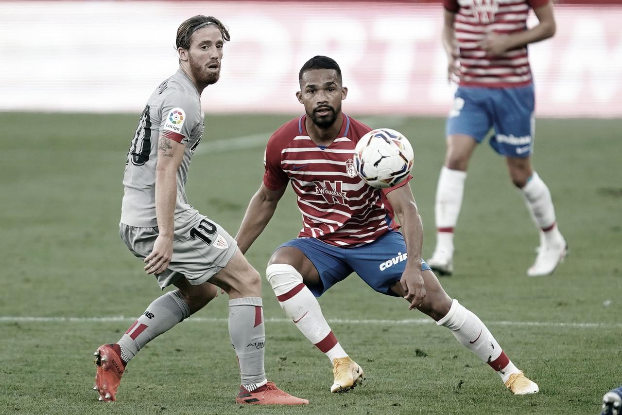 Com dois gols em quatro minutos, Granada estreia em LaLiga com triunfo sobre Athletic Bilbao