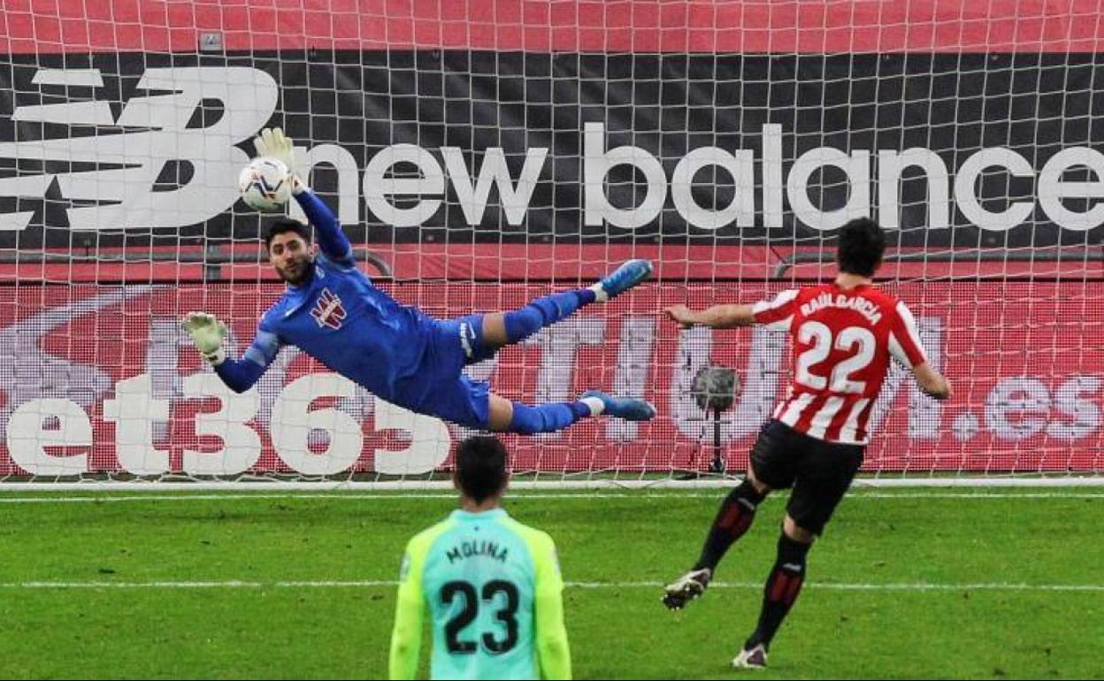Rui Silva: el ángel de la guarda del Granada CF
