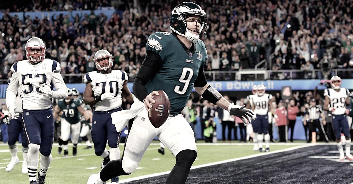 7dfcb94b2d Efeito Super Bowl  Nick Foles lidera lista de venda de produtos oficiais da  NFL e