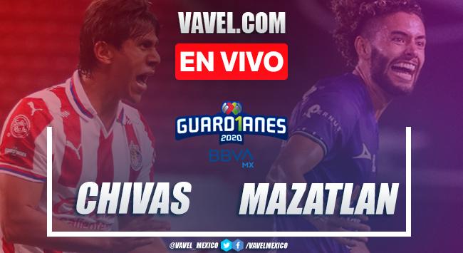 Goles y resumen: Chivas 2-1 Mazatlán FC en Guard1anes 2020