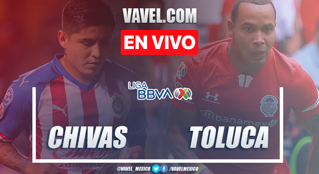 Goles y Resumen: Chivas de Guadalajara 2-2 Toluca en Liga MX 2020