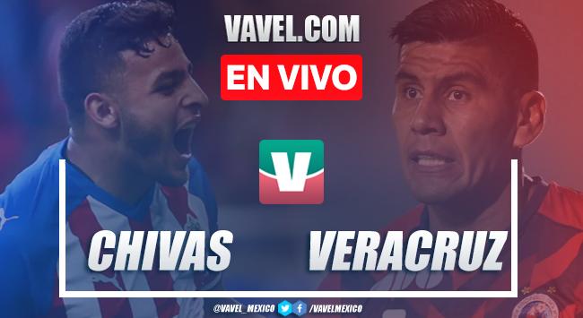 Goles y Resumen, Chivas 3-1 Veracruz en Liga MX 2019