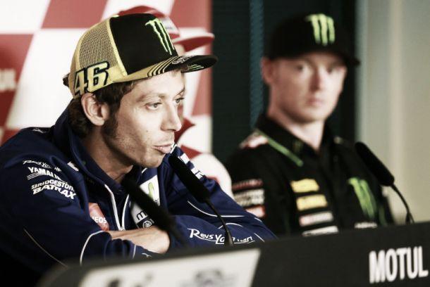 MotoGP, Rossi al comando nelle prime libere ad Assen