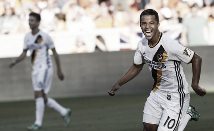 Los Angeles Galaxy storm past Houston Dynamo, get first road win of season