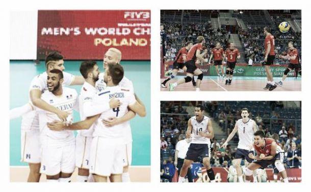 Championnat du monde de volley-ball (groupe D): la Belgique s'affirme, l'Iran confirme, la France chute