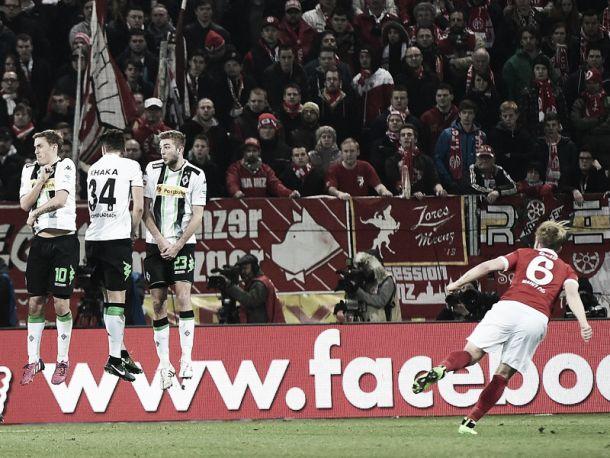 1. FSV Mainz 05 2-2 Borussia Mönchengladbach: Foals fumble a two-goal lead