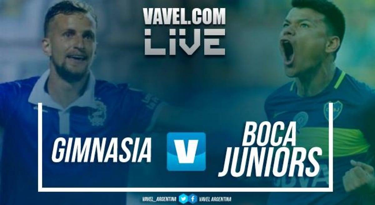 Gimnasia vs Boca Juniors en vivo online en Superliga 2018 (0-0)