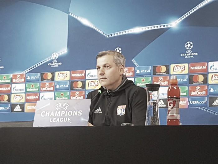 """Lione, Génésio svela le carte in conferenza: """"Potrei confermare il 4-3-3 di Tolosa contro la Juventus"""""""