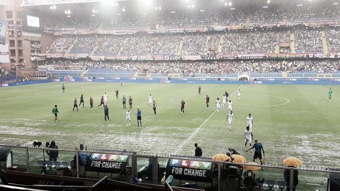 Partida entre Genoa e Fiorentina é adiada por conta de temporal